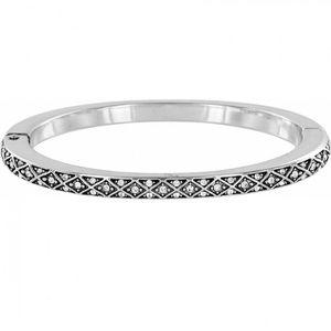 Brighton Silver Swarovski Crystal Diamond Bracelet